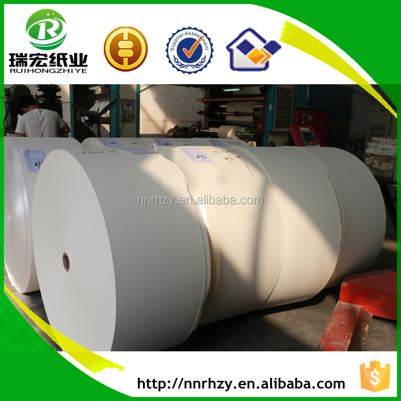 Chinese offset paper factory supply uncoated woodfree offset paper