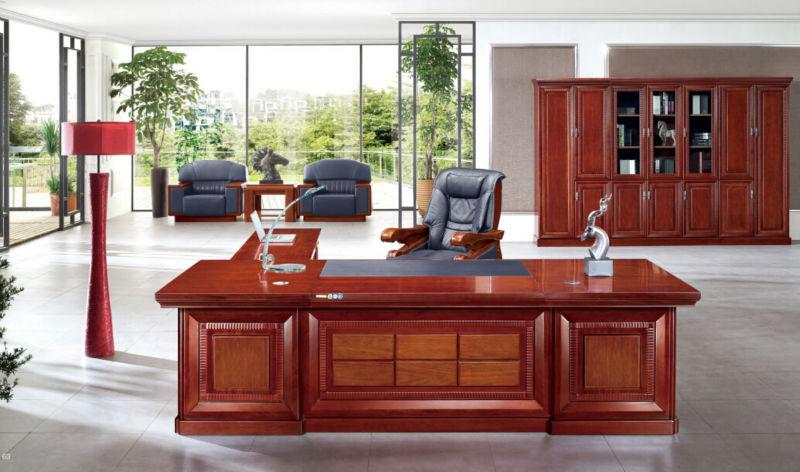 Guangzhou alta calidad caoba de lujo muebles de oficina for Muebles de oficina quality