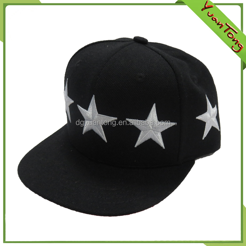 Good quality 100% polyester fabric children adjustable cap supplier
