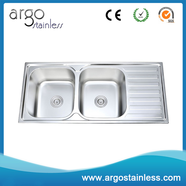 Commercial garden outdoor portable kitchen sink, lab sink, stainless steel  sink