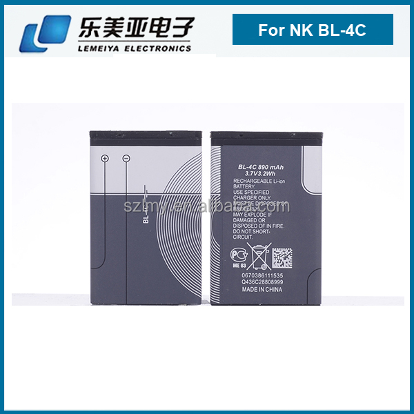 yes rechargeable battery for nokia bl-4c 6100/1265/1325/2228/2650/2652/3108/3500C