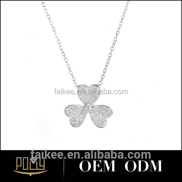 Pendant Wholesale Zircon Flower Necklace In China S Alphabet ...