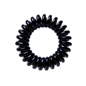 Plastic telephone cord hair rings curly traceless hair ties