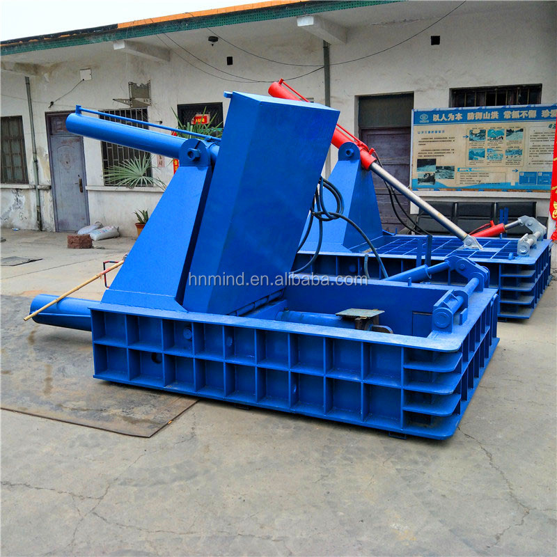 Horizontal Strong Pressure Tilting Type Waste Iron Steel Bundling Packer