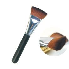 Novo plano compo o jogo da escova de contorno em pó jogo de escova mulheres sobrancelha reparação escova de rosto para a fundação pincéis de maquiagem ferramentas corar