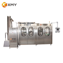 Automatic 3 in 1 bottle mineral water machine price with washing filling capping plant