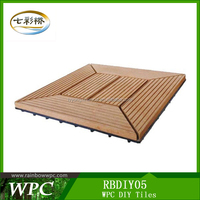 Choice,Outdoor Easy Install WPC DIY TILES RB DIY-05