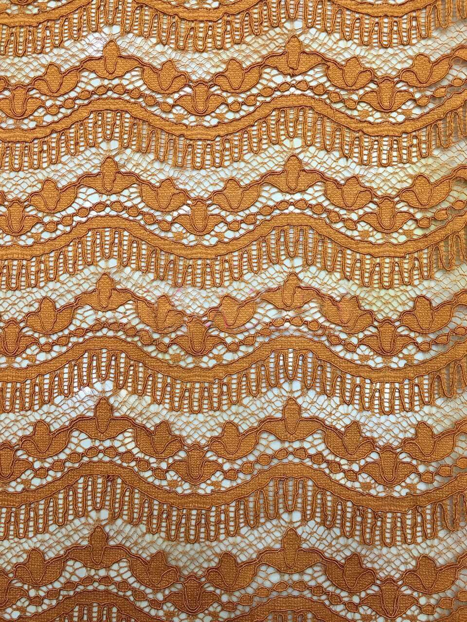 Cotton Crochet Lace Fabric Cord Fabrics Embroidered Lace