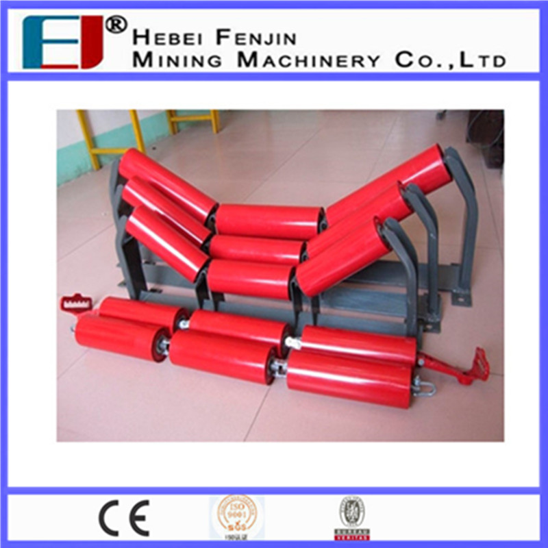 CEMA Standard 3 Roll Trough Roller roller steel For Cargo Handling