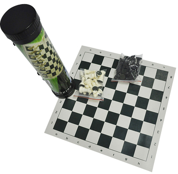 Giant Plastic Chess Set With A 16 King Garden Outdoor