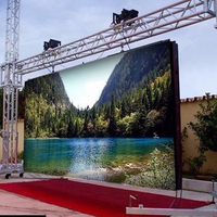 P6 Outdoor Custom Size Big Screen Outdoor Led Tv,smd outdoor led display screen p6