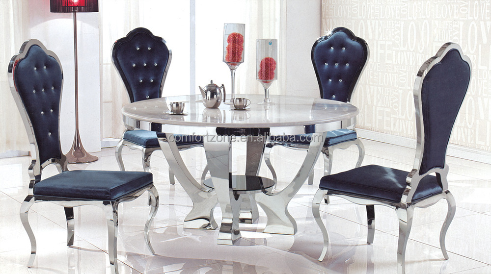A8055 2016 The Most Graceful Round Shape Dining Table And Chair ...