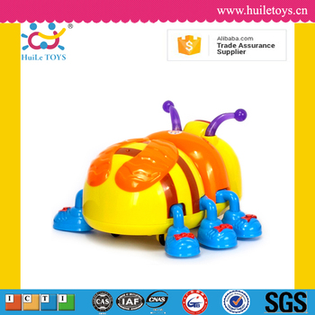 2016 Huile kid musical bee toys with light