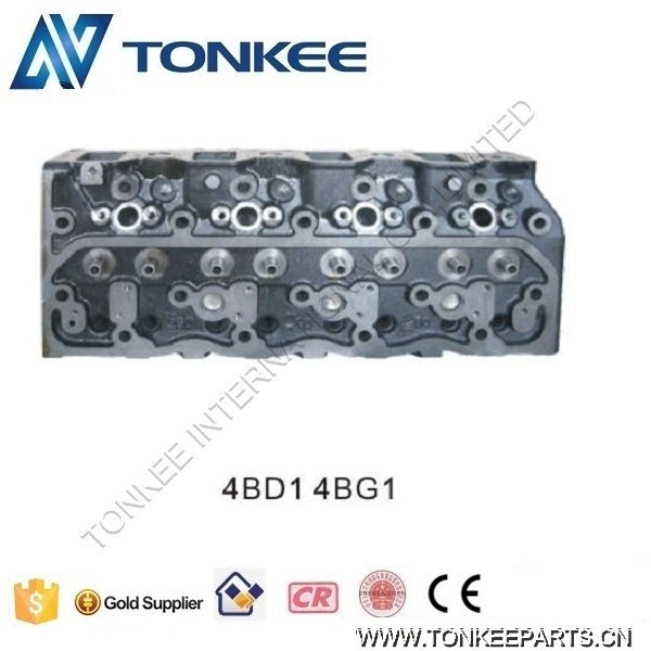 China supplier 4BD1 Engine cylinder head 4BG1 Cylinder head for Excavator