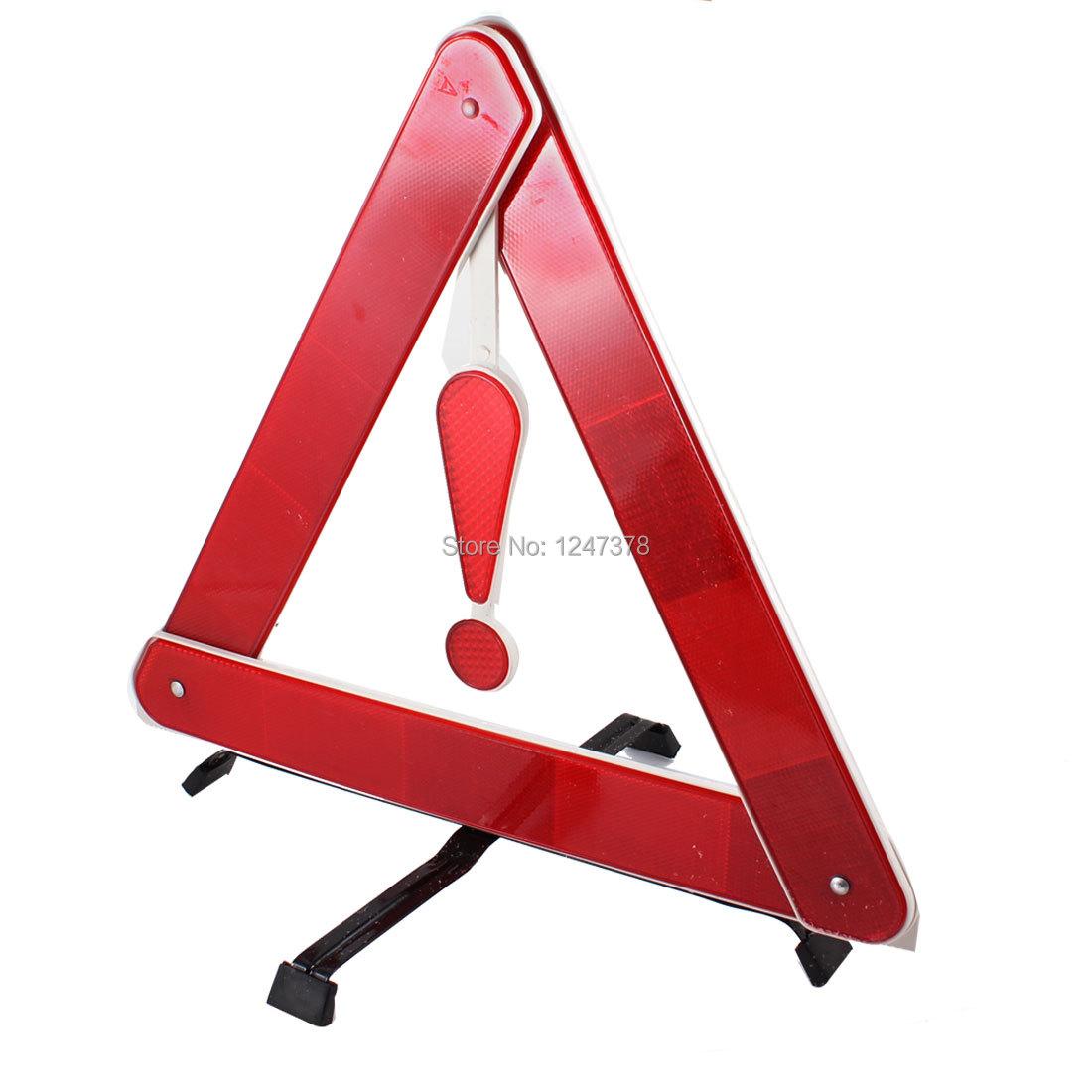 Складной оповещения о чрезвычайных ситуациях безопасности треугольник дорожный знак красный для авто