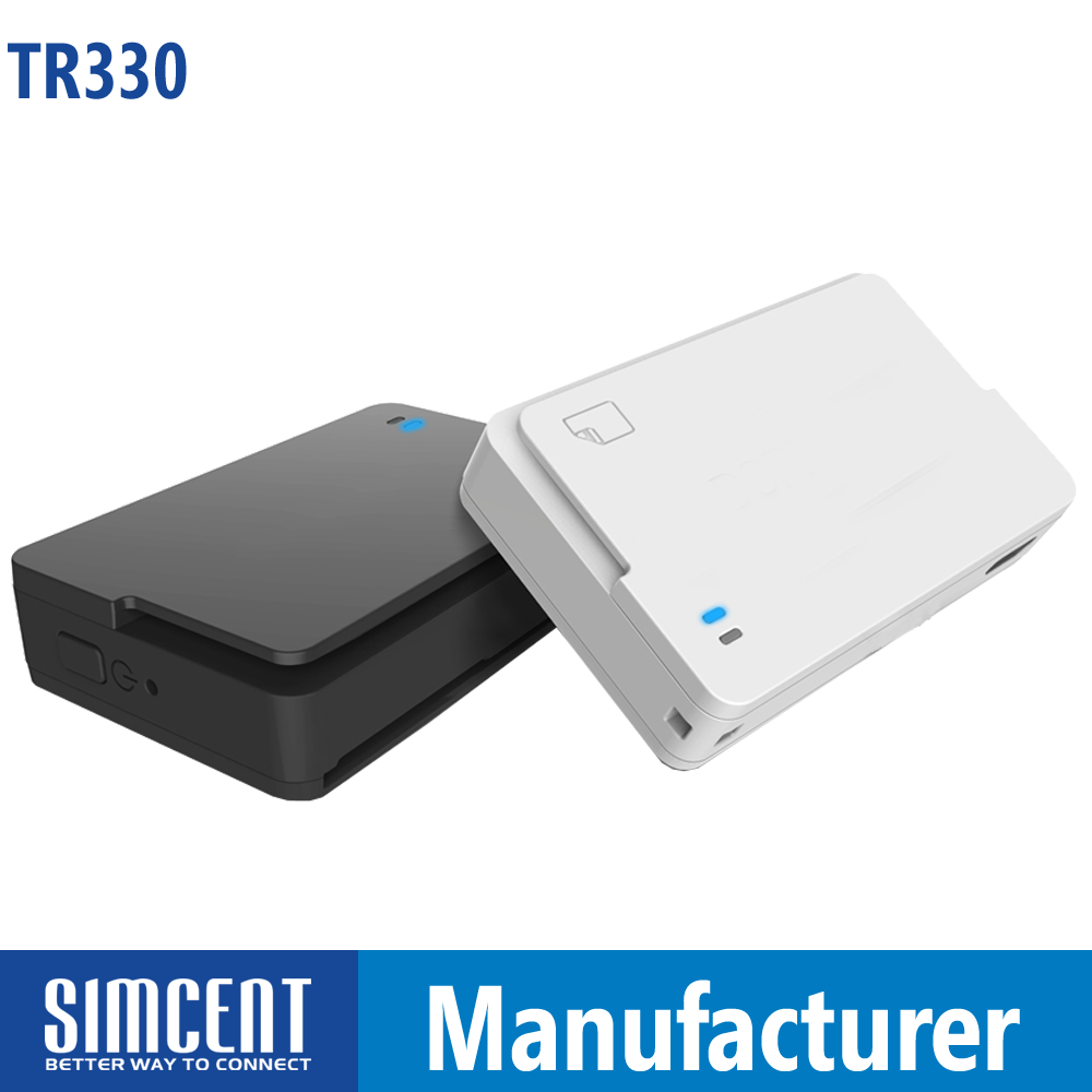 Wireless USB Bluetooth NFC Smart Card Reader