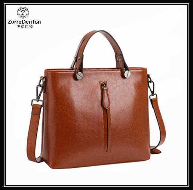 Fashion Top Handle Leather Tote Shoulder Bags Crossbody Handbag Designer Purse Satchel for Office Ladies