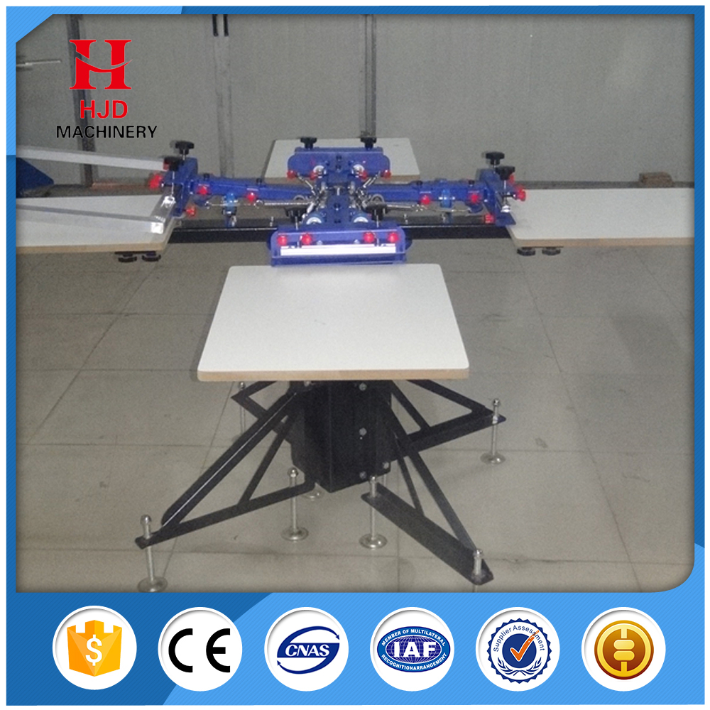 Hot Sale Popular Style Precision 4 Color Manual Screen Printing Machine