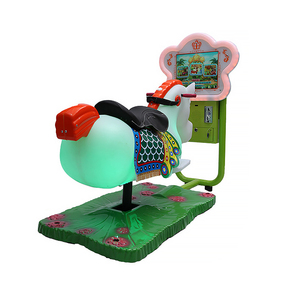 Hot Selling Flower Horse Kid Rider Game Machine For Sale