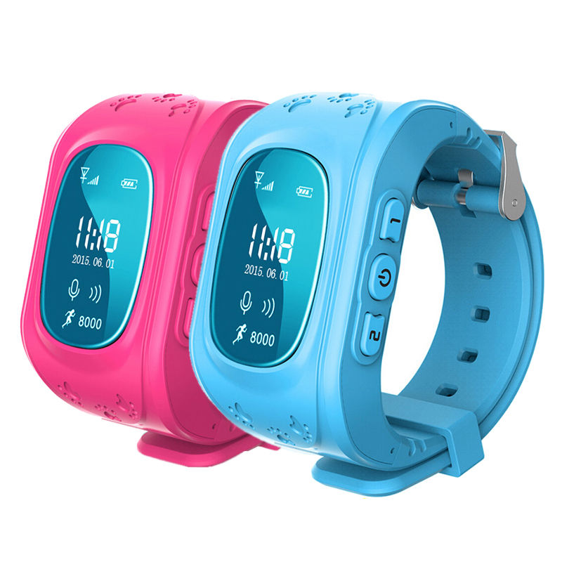 GPS Tracker SOS Call Children Smart Watch Anti lost Kids For Android IOS Phone