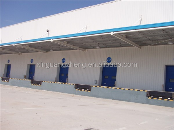 metal cladding prefabricated arch warehouse building