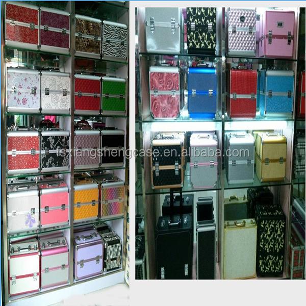 Suitcase Type Aluminum Tool Case Round Corners/storage Metal Case ...