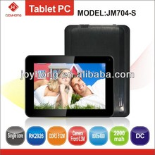 7 inch cheapest 1.0GHZ 512M/4G capacitive screen tablet pc