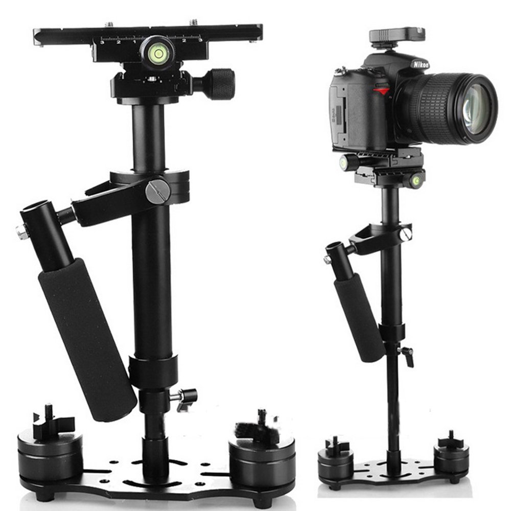 SIMAWAN Carbon Fiber 26.77//68cm Camera Stabilizer for Video Cameras Weight up to 4.5kgs