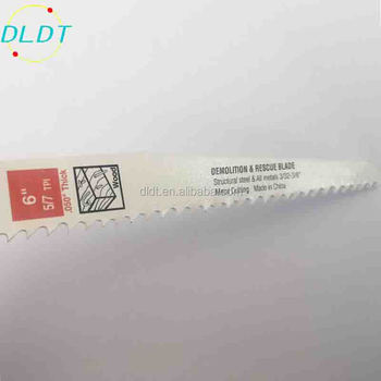 HSS m42 Bi-metal saw blade reciprocating wood cutting metal cutting