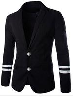 Manufacturer directly supply Men metal buckle casual linen suit blazer men casual summer suit