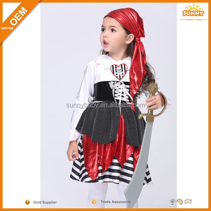 New Design Kids Pirate Costumes Cosplay Baby Cosplay
