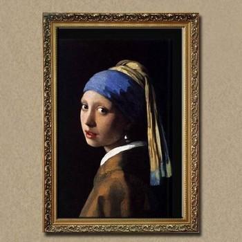 Mädchen Mit Perlenohrring ölgemälde Für Wand Dekor Von Johannes
