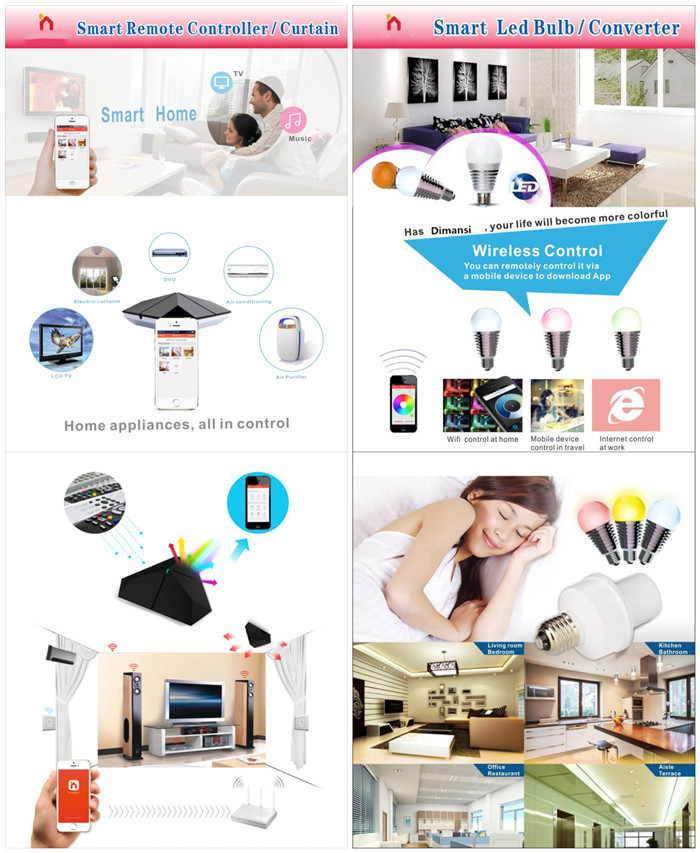 3 Gang 1 Way Wall Light Led Touch Screen Dimmer Switch Smart Home ...
