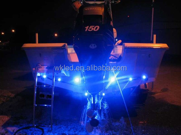Wholesale 12 Volt 60w Submersible Flood Led Marine Navigation Solar Light