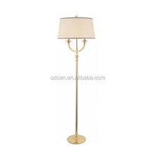 decorative wholesale standing hotel copper lamp floor lamps