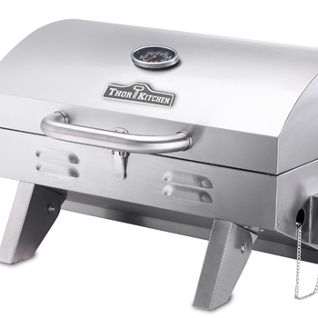 Folded legged stainless steel electric bbq spit NG/LP BBQ