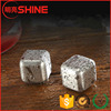 custom non melting ice cubes/Reusable Stainless Steel Whiskey Stones 8pcs Set for sale