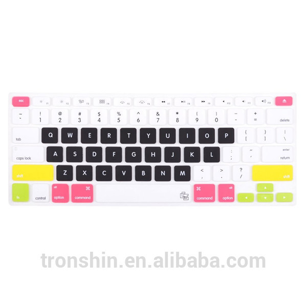 Silkscreen Printing Letters Silicone Rubber Keyboard Cover For ...