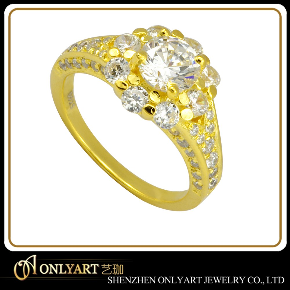style low price simple gold ring gold ring