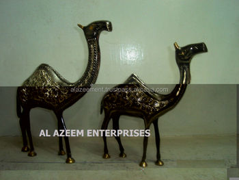Best Quality Beautiful Camel Shape Brass Made Crafts Pakistan For