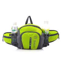 Outdoor Waist Bag Water Resistant Waist Pack with Water Bottle Running hiking