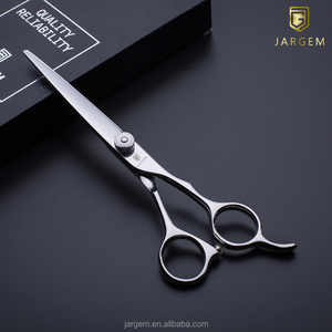 7.0 inch hair cutting scissors with big rings in Japan VG10