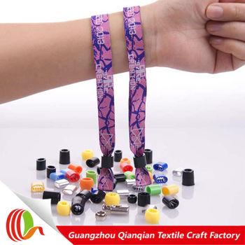 Kids Safety Id Wristband Cloth Ideny Bracelet Special Needs Free Sample Bracelets