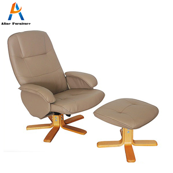 PU Leather Relaxing Tub Chair Without Legs