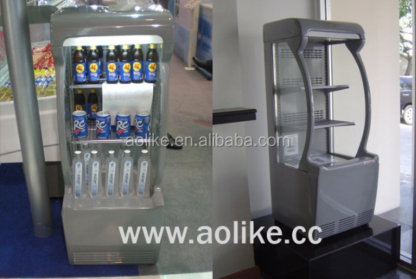 commercial refrigerated supermarket display fridge