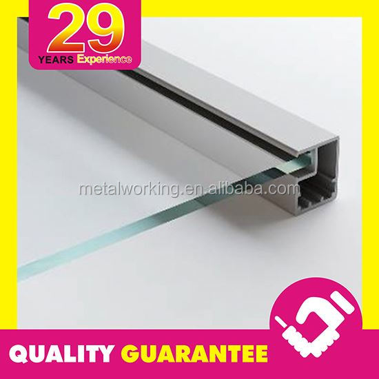 Extruded Glass Table Frame Aluminum Metal Frame Custom Service