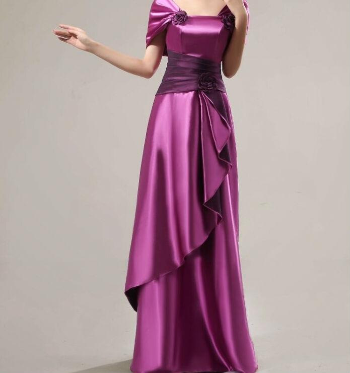 Gambar Model Gaun Satin Long Dress Fabric Red Product On Alibaba