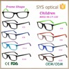 8002 kids optical glasses,bright color spectacle square frame