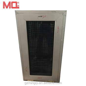Aluminum double glazed windows with mosquito net or blinds
