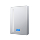 Smart Bathroom Mirror Cabinet with Digital Clock and Bluetooth Lighted Medicine Cabinet IP44